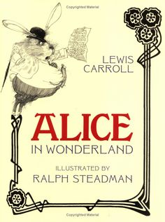 The Most Beautiful Things - the most beautiful bit of psychedelia: Ralph Steadman's Alice