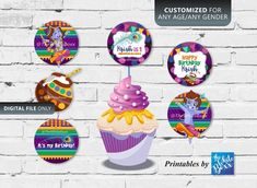 Krishna (Hindu God) themed Cup Cake Toppers for Birthday / Baby Shower Baby Shower Punch, Baby Shower Parties, Shower Baby, Daughter Birthday, Boy Birthday, Birthday Cake, Krishna Birthday, Krishna Hindu, Cool Lego Creations