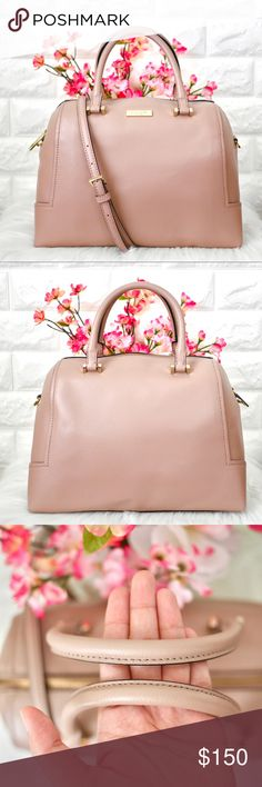 🎉HOST PICK🎉💖Kate Spade Miro Street Miriam LIKE NEW.  • No stains rips or tears. No scratches on metal logo.  Color: Dusty Rose Material: Cow Leather  Dimension: 12.5L x 8H x 6D  • PRICE FIRM. No trades. kate spade Bags Satchels