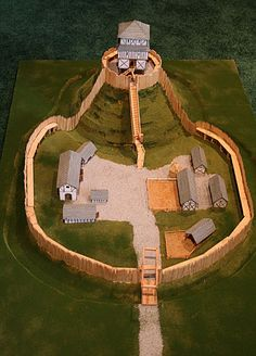 Motte & Bailey Castle- good info and ideas to inspire a diy