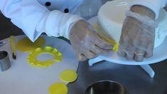Dica de uma Técnica fácil para aplicar em seus bolos com cobertura em pasta americana ,