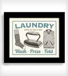 Laundry Room Decor Wall Art Laundry Sign