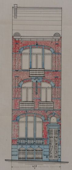 Schaerbeek - Rue Fontaine d'Amour 1 - Rue Godefroid Devreese 53 - Rue Fontaine d'Amour 3, 5, 7, 9, 11 - BARTHOLEYNS René