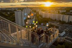 Eröffnung Skywalk Marzahn am 28.09.2015-Die Aussichtsplattform liegt 70 Meter hoch ueber die Marzahner Promenade.....