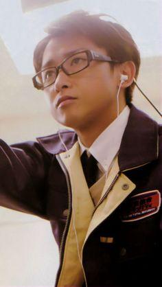 satoshi as Enomoto Kei in 'The Locked Room Mysteries'