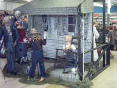 spirit store display pics halloween