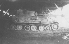 The VK 45.01 Porsche Tiger (P) prototype found by U.S. troops in relatively good condition, was not found acceptable compared to the Henschel Tiger version that Hitler did accept