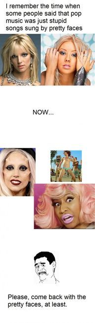 Exactly!! Nicki Minaj scares the crap out of me.