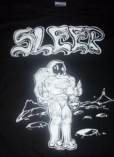 5558dbf46 SLEEP astronaut shirt doom metal om high on fire. $9.99, via Etsy. Death