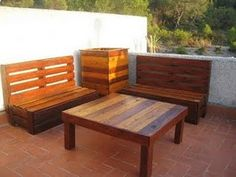 do it yourself: How to make homemade furniture and pallet recycling