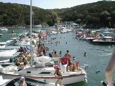 {Lakeway, Texas} Devil's Cove on Lake Travis. A well known place to party! Lakeway Texas, Lake Floats, Miss Texas, Texas Roadtrip, Float Trip, Lake Travis, Texas Hill Country, Lake Life, Austin Texas