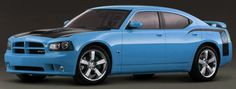 2008 Dodge Charger Superbee in B5 Blue (Surf Blue Pearl)    Sooo want this car :))