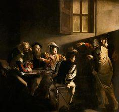 Michelangelo Caravaggio - The Calling of Saint Matthew