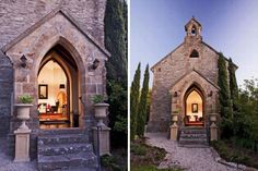 Check out this church-turned-home: http://inthralld.com/2013/11/1977-houghton-australia-church-conversion/