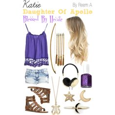 Katie, Daughter Of Apollo, Blessed By Hecate, Percy Jackson Inspired Outfit