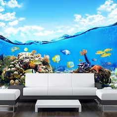 Extra long sticky poster. Size: 233 cm high and 281 cm wide. Amazing illusion for your interior - wall or door! High quality peel and stick film. Comes rolled in a tube. If you need CUSTOM size just write us!  High quality washable vinyl banner, waterproof inks and a UV protective coating gi...