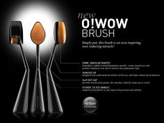 First Impression: O! WOW Brush from Cailyn Cosmetics (video review) soft, bristle makeup brush. Not a sponge type applicator, has actual bristles.