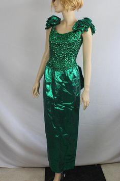 80s prom dress vintage 1980s dress Mike Benet 80s vtg