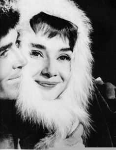 Audrey Hepburn and Henry Fonda
