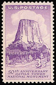 Devils Tower - 1956 USA