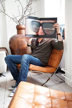 in your face. Lauren Bush, Modern Hepburn, Wit And Delight, Cheap Ray Ban Sunglasses, Barcelona Chair, Interior Design Inspiration, Belle Photo, At Least, Mens Fashion