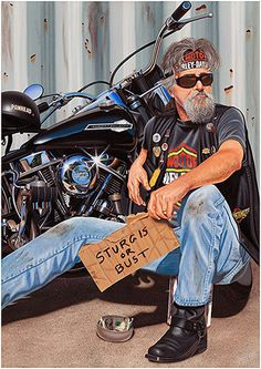 Official 2012 Sturgis Painting...