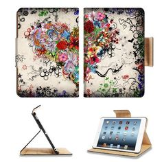 Flowers Heart Flowers Are Blooming Flower Apple Ipad Mini Flip Case Stand Smart Magnetic Cover Open Ports Customized Made to Order Support Ready Premium Deluxe Pu Leather 13 1/16 Inch (333mm) X 8 Inch (205mm) X 11/16 Inch (17mm) Woocoo Ipad Mini Professional Ipadmini Cases Ipad_mini Accessories Retina Display Graphic Background Covers Designed Model Folio Sleeve HD Template Designed Wallpaper Photo Jacket Wifi 16gb 32gb 64gb Luxury Protector by woocoo ipad mini…