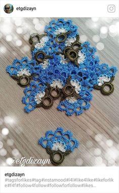 This Pin was discovered by Elm Crochet Edging Patterns, Crochet Borders, Crochet Motif, Crochet Flowers, Crochet Lace, Hairstyle Trends, Crochet Bag Tutorials, Moda Emo, Crochet Collar