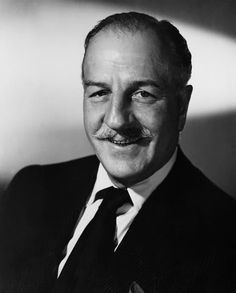 "Actor LOUIS CALHERN - is buried at HFC. He died of a massive heart attack in Tokyo Japan while filming ""The Teahouse of the August Moon."" Ironically, he had replaced actor Frank Morgan who also died from a sudden heart attack while filming the movie. Hollywood Stars, Golden Age Of Hollywood, Classic Hollywood, Old Hollywood, Cary Grant, Louis Calhern, Actor Secundario, Hollywood Forever Cemetery, High Society"
