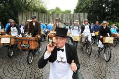 Bloomsday - every year events take place across the city and people dress in period costume to celebrate James Joyce's tale