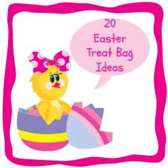 20 Easter Treat Bag Ideas - 20 adorable treat bag ideas for your child's Easter basket