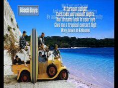 The Beach Boys - KOKOMO - Lyrics/HQ Beach Songs, The Beach Boys, Way Down, Jamaica, Channel, Entertaining, Youtube, Bucket, Musica