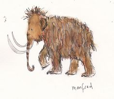 'Manfred' sketchbook image