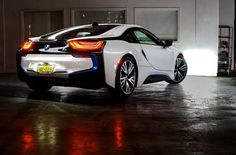#iSpy a night that's about to take off in a BMW #i8. What are your evening plans?