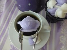 Tea Pot and Tea Cup Shaped Sugar Cubes for Tea Parties, Showers, and Gifts on Etsy, $12.95