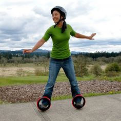 Orbitwheels - | The roller rink hasn't seen anything like this before. Your kid wants to be the next big thing in extreme sports. You want to avoid a skateboard-inflicted trip to the emergency room. Orbitwheels let you meet in the middle. Shop SkyMall.com!