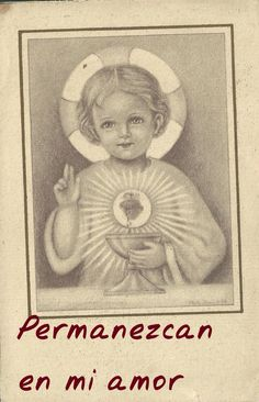 Catholic Pictures, Jesus Pictures, Christian Images, Christian Art, Jesus Childhood, Jesus E Maria, Vintage Holy Cards, Religion, Novena Prayers