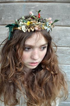 1880s Antique FRENCH Crown TIARA from Globe by NeverNeverTraders, $215.00