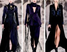 Dreams of the DragonRabbit Couture Fashion, Runway Fashion, High Fashion, Edgy Outfits, Cool Outfits, Fashion Outfits, Pretty Dresses, Beautiful Dresses, Fringe Fashion