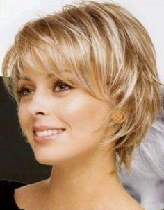 Afbeeldingsresultaten voor Short Layered Hairstyles with Bangs