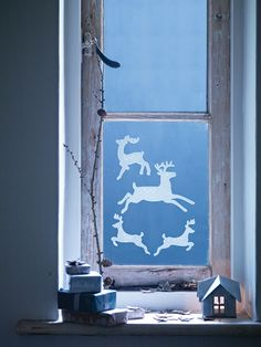 Deer Window Sticker