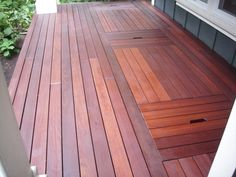 Portland Ipe deck refinishing | Deck Masters, llc - Portland, OR