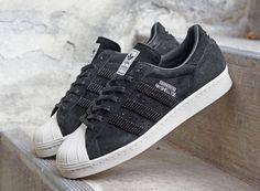 Adidas x NBHD NH Shelltoe (Black/Light Bone)