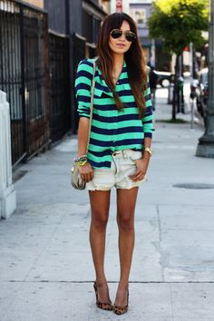 Pra inspirar: looks com shorts jeans