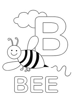 Top 10 Letter 'B' Coloring Pages Your Toddler Will Love To Learn & Color
