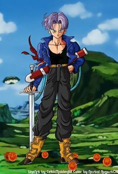 The most handsome Saiyajin: Trunks Mirai #Dragon_ball_z