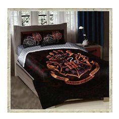 Hogwarts bedspread!