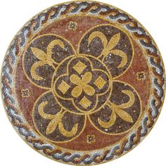 MD069 Marble Mosaic Medallion