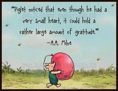 .Gratitude is one of the best qualities one can show :)