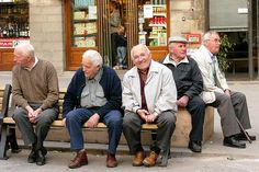 Italian Men by xtineconrad, via Flickr ~ isn't this a great photo.. love the smiles on the mens faces.